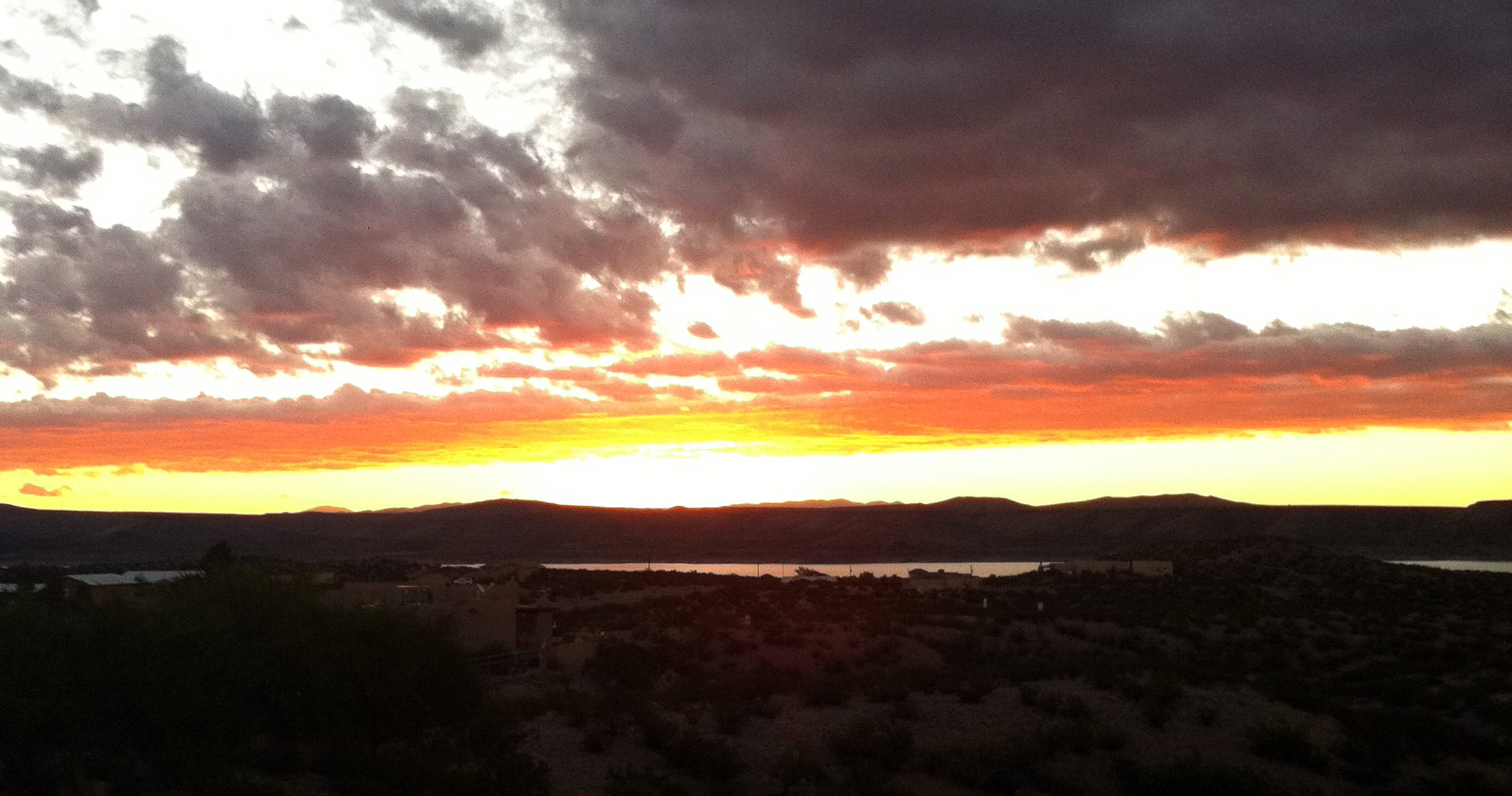 Sunrise in Elephant Butte