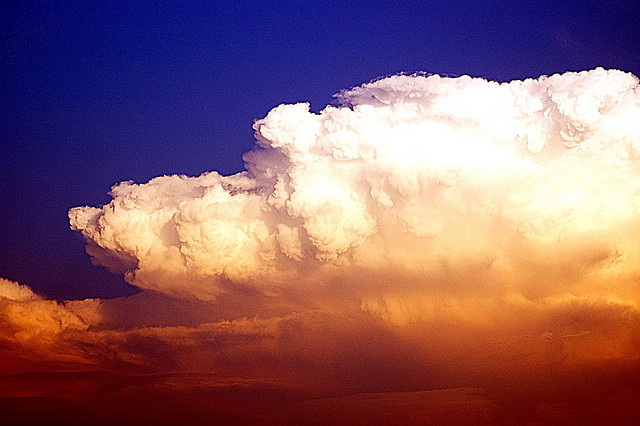 Texas Thunderstorm Clouds