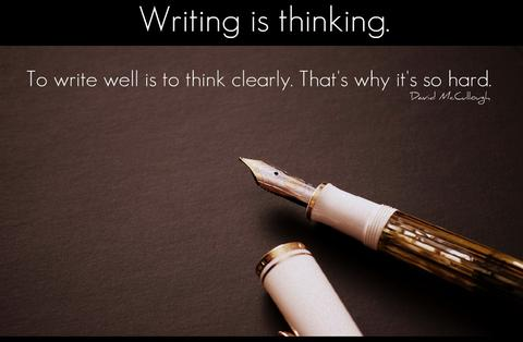 Writing is Thinking